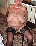 very old amateur grannies showing off